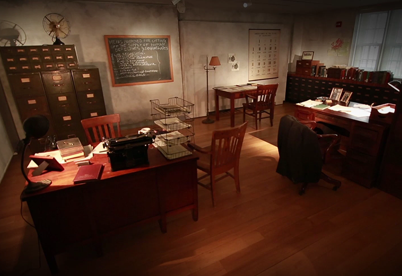 A snapshot from Haunted Files: The Eugenics Record Office